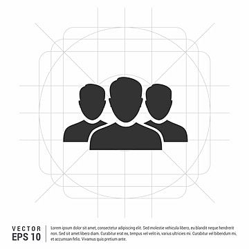 Group Of People Icon People Icons Group Icons Group Png And Vector With Transparent Background For Free Download People Icon Silhouette People Cartoon Styles