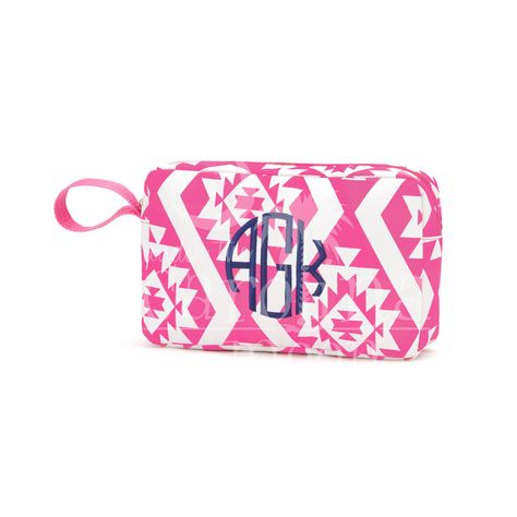 This Patterned Accessory Bag is perfect for your money, keys and cell phone while you are out at the pool or the beach even on the boat. We also have matching cooler bag, beach bag, and coozie. You can place your order online at www.underthecarolinamoon.com #UTCM #UnderTheCarolinaMoon #Beach #AccessoryBag