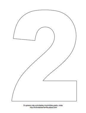 Numero 1 Para Colorear Numero Para Imprimir Numero 2 Para Imprimir Imprimir Sobres