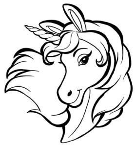 Gratis Tierbilder Zum Ausdrucken Und Ausmalen Unicorn Coloring Pages Pyrography Patterns Unicorn Drawing