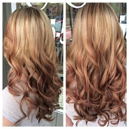 31 Trendy Ideas For Hair Blonde Balayage Rose Gold Hair