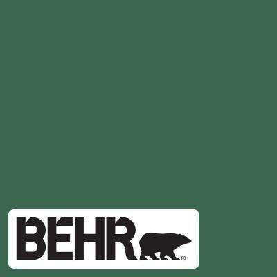 Behr Marquee 1 Gal M410 7 Perennial Green Eggshell Enamel Interior Paint Primer 245301 The Home Depot Green Paint Colors Emerald Green Paint Green Accent Walls
