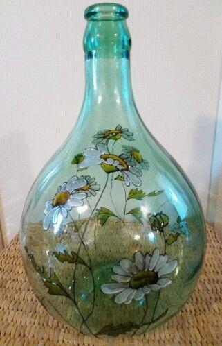Grande Rustico Giardino Decorativo Casa Ceramica Bottiglie Vaso di Fiori