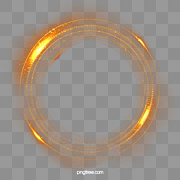 Golden Technology Light Effect Ring Gold Golden Round Box Png Transparent Clipart Image And Psd File For Free Download In 2021 Gold Clipart Lens Flare Light Magic