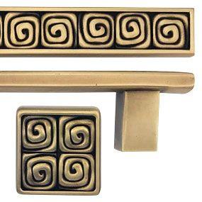 Edgar Berebi Decorative Hardware Collection Finishes Wave
