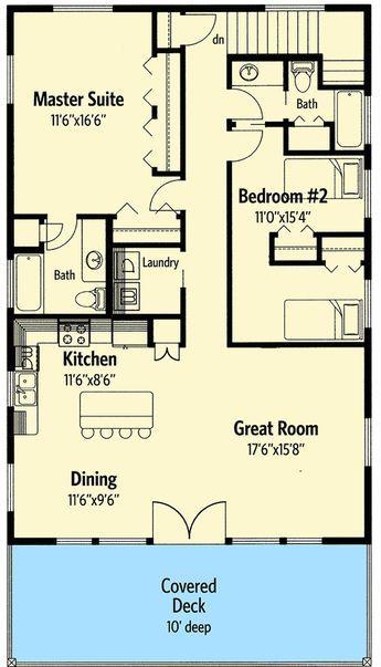 Plan 35361gh Popular Compact Design Carriage House Plans House Plans Floor Plans
