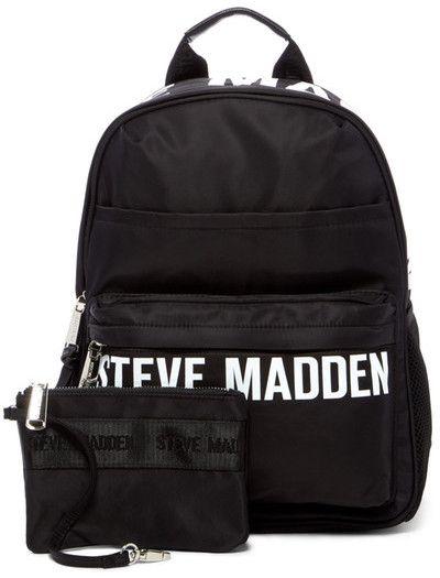 6a3f7647b70 Steve Madden Placement Print Nylon Backpack #backpack #stevemadde ...