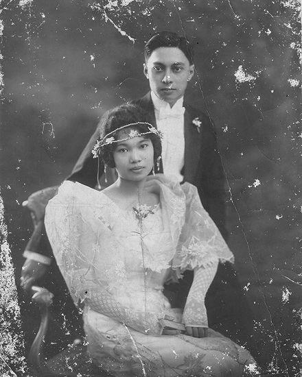 Emilio Ledesma y Ledesma and Rosario Locsin y Locsin-Ledesma