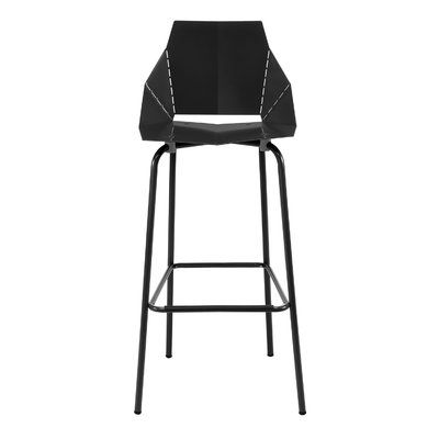 Blu Dot Real Good Bar Counter Stool Color Black Seat Height Counter Stool 25 Seat Height Counter Stools Cool Bar Stools Unique Bar Stools