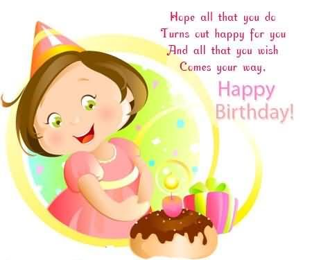 Cute Happy Birthday Wishes Images And Messages