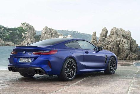 2020 Bmw M8 Competition Vehicles Bmw M8 Competition Car Blue Car