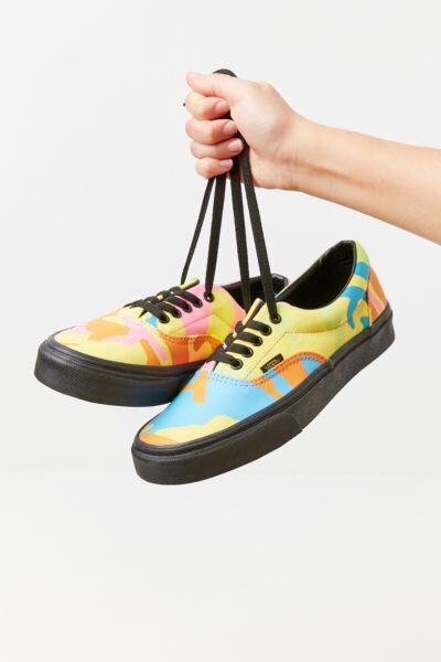 Vans Era Neon Camo Sneaker | Sneakers