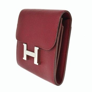 3ad6dbb2ef HERMES Constance H Logo Wallet Purse Purple Veau Epsom France JD04430. Get  the lowest price on HERMES Constance H Logo Wallet Purse Purple Veau Epsom  France ...