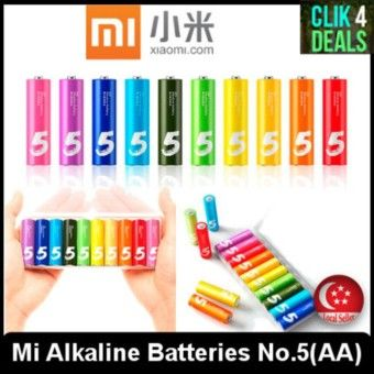 Special Prices Imported Original Xiaomi Mi Alkaline Batteries No 5 Aa Battery 1 5v 10 Batteries Per Boxitem Is Really Good Imported Original Xiao