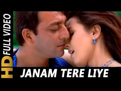 Janam Tere Liye Raat Din Kumar Sanu Alka Yagnik Kurukshetra 2000 Songs Sanjay Dutt Mahima Youtube Youtube
