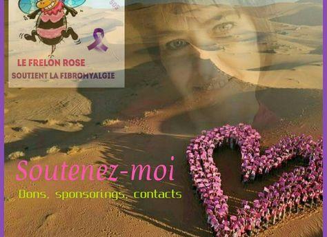 Le frelon rose soutient la lutte contre la fibromyalgie - rallye trophée roses des sables