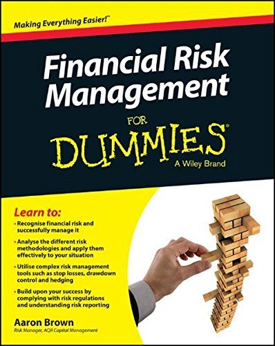 Pdf Download Financial Risk Management For Dummies Best Book By