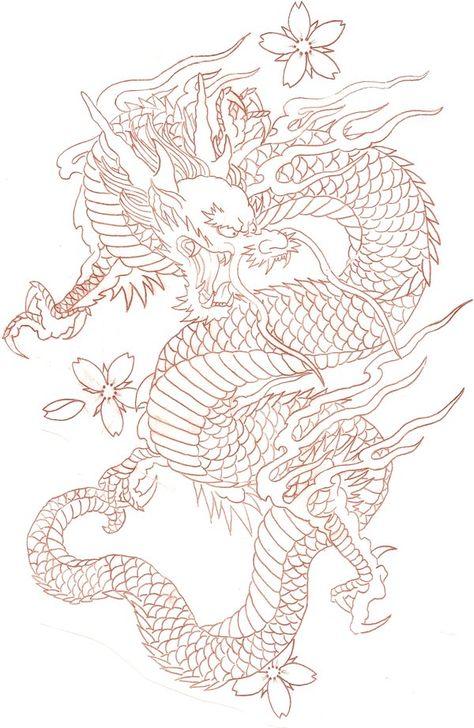 diseños de tatuajes 2019 Ladys and Genltemen, I give you a Chinese Dragon. - diseños de tatuajes 2019 Ladys and Genltemen, I give you a Chinese Dragon. I also have the coloure -