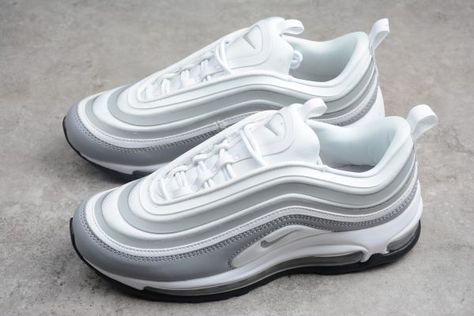 Nike Air Max 97 Ultra WhitePure Platinum Wolf Grey 917704