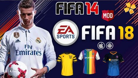 fd3dceb0716 FIFA 14 MOD FIFA 18 PPSSPP for Android and iPhone 100% Offline New Menu 1GB  Best HD Graphics Update Version Download. We have released a new update for  FIFA ...