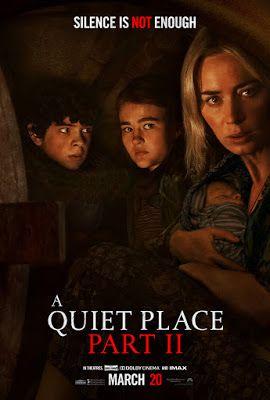 無聲絕境II/噤界2(A Quiet Place II)poster