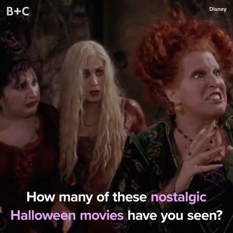 The Most Nostalgic Halloween Movies