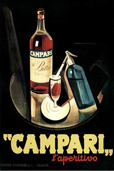 CAMPARI APERITIVO 1926 FINE ART PRINT POSTER HOME DECOR BB8063B