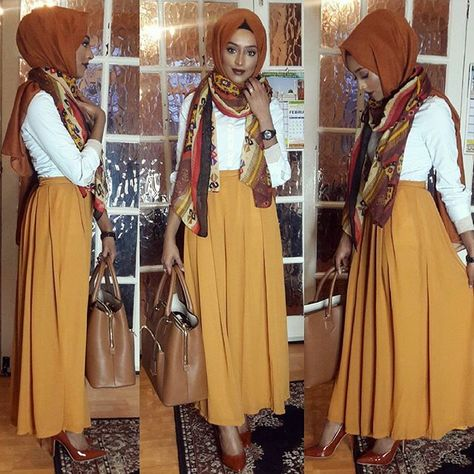 أزياء شيك للمحجبات , ملابس مميزة و أنيقة للمحجبات 2021 bd327151e42c93cb6972