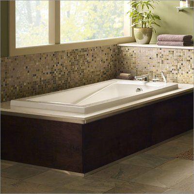 American Standard Green Tea 60 X 36 Undermount Soaking Bathtub Soaking Bathtubs Bathtub Whirlpool Bathtub