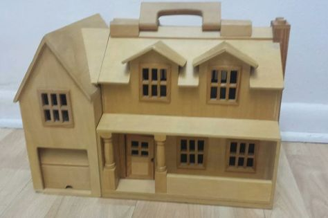 Details About Melissa Doug Fold And Go Wooden Castle