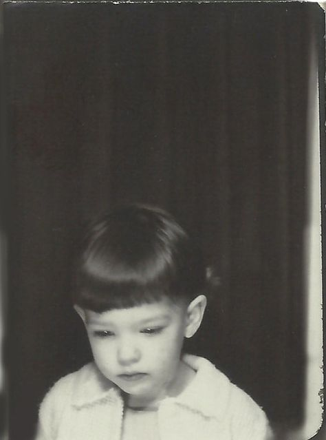 +~ Vintage Photo Booth Picture ~+  Little miss blue...
