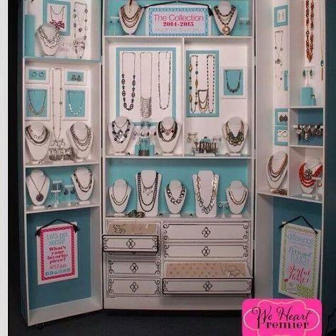 WOW! Unbelievable 2014 Fall / Winter Lia Sophia Jewelry Display.