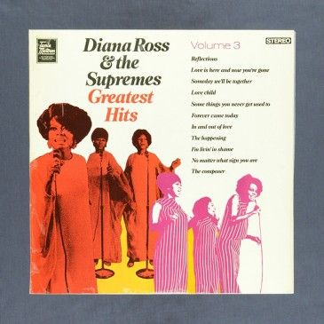Diana Ross The Supremes Greatest Hits Volume 3 Lp Used Diana Ross Used Vinyl Records Used Records