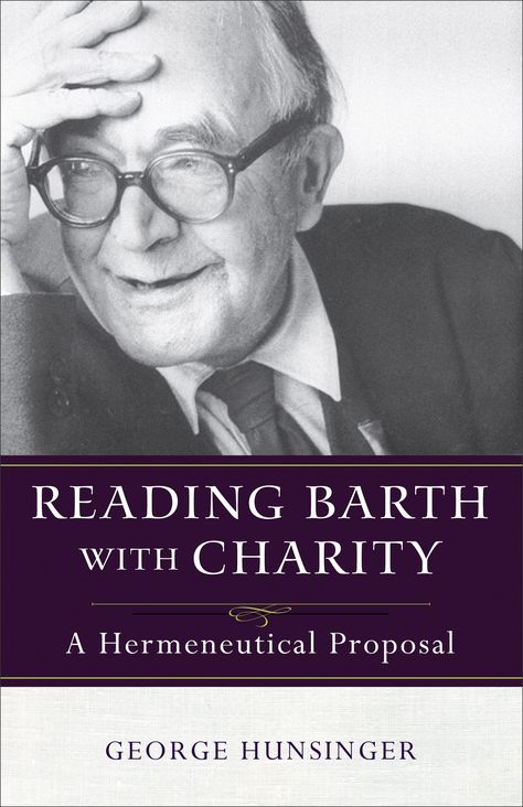Book Review Reading Barth with Charity - charity proposal