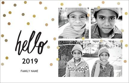 New Year Holiday Cards Templates Designs Page 2 Vistaprint Holiday Card Template New Year Holidays Holiday Cards