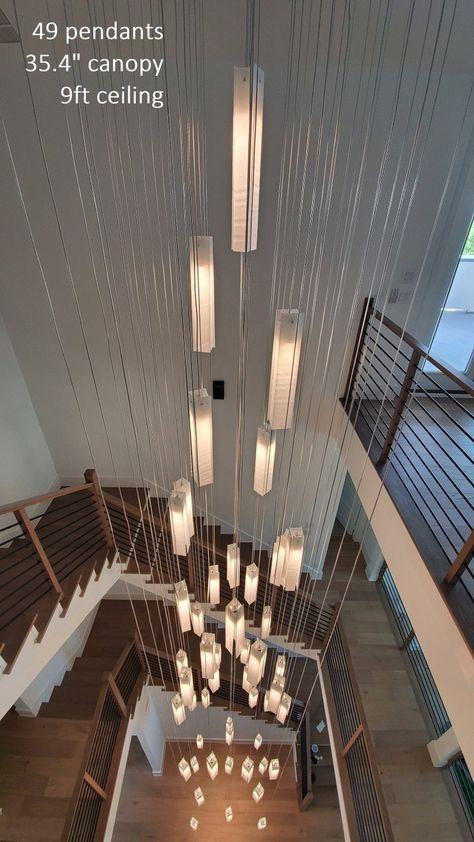 Chandelier Lighting For Modern Home Decor Customized Large Etsy In 2020 Modern Lighting Chandeliers Indoor Lighting Fixtures Chandelier Lighting