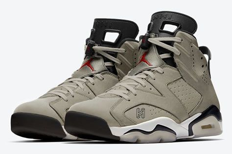 pretty nice da673 ed73a Travis Scott x Air Jordan Retro 6 | Shoes❤ in 2019 | Nike ...