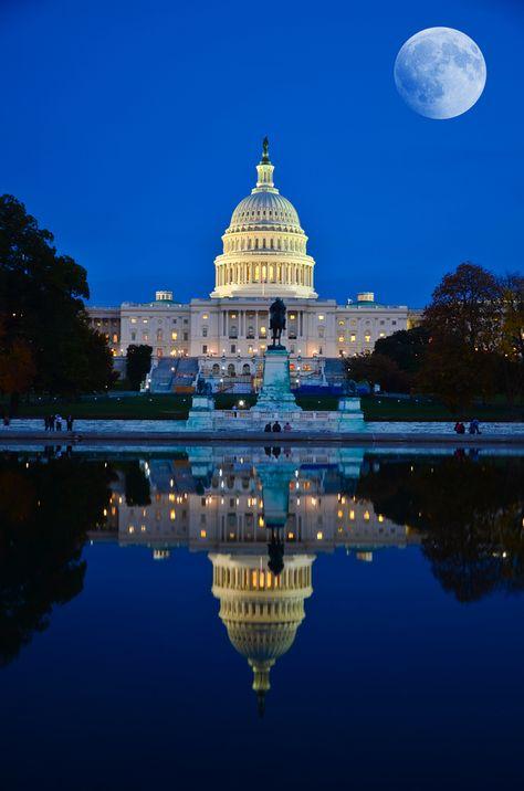 The White House, United States Capitol building. Washington D.C. #WashingtonDC #USCapital