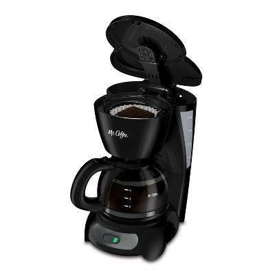 Mr Coffee 4 Cup Switch Coffee Maker Black 5 Cup Coffee Maker One Cup Coffee Maker Drip Coffee Maker