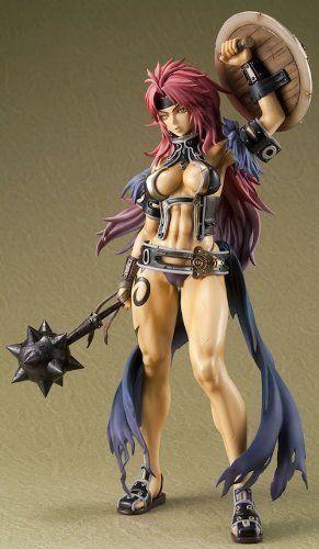 QUEEN/'S BLADE Risty 1//8 Pvc Figure Excellent Model Megahouse
