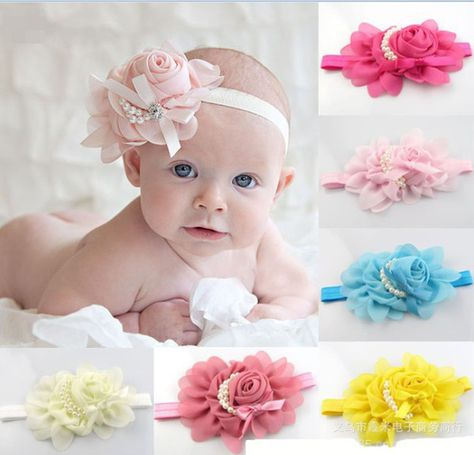 Lace Headband for girl Hair Accessories Lace Headband Wholesale Girls Baby