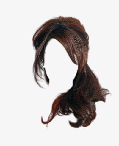 Brown Hair Wig To Pull The Material Free Hair Styles Hair Tools Wig Hairstyles