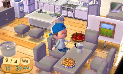 Kitchen Island Acnl animal crossing new leaf kitchen island - google search | animal
