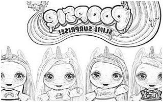 Coloring Pages Poopsie Slime Surprise Unicorn Coloring Coloriage Minecraft Coloriage Licorne A Colorier