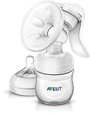 Philips Avent SCF330//20 Komfort Handmilchpumpe mit Naturnah-Flasche