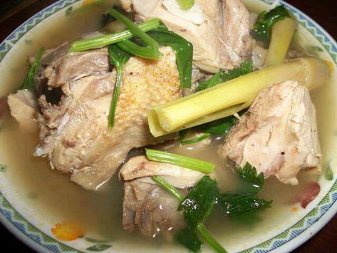 Resep Masakan Sup Ayam Kampung Tanpa Minyak Sup Ayam Resep Masakan Masakan