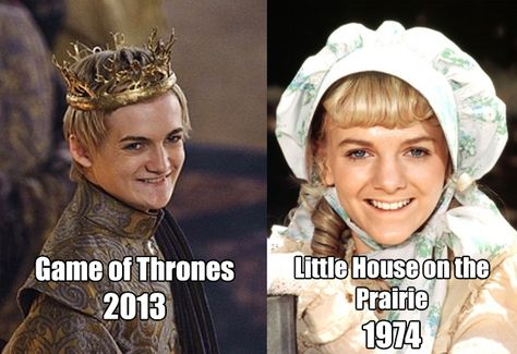 game of thrones vs little house on the prairie