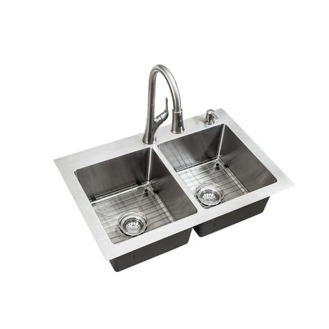 One Dual Mount Stainless Steel