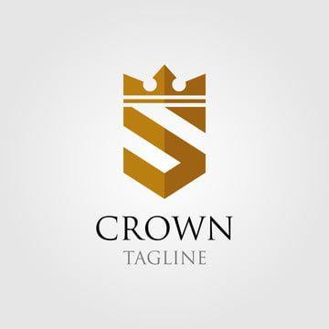 Vintage Crown Logo And Letter S Symbol Logotipo De La Corona Carta Logo Logotipos De Diseno Grafico