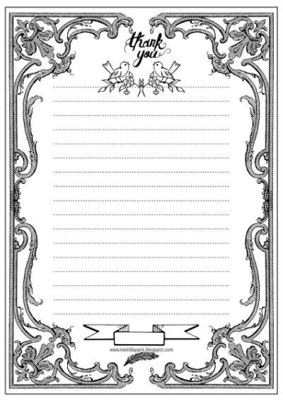 Love Letter Writing Paper Free Printable Coloring Pages Free